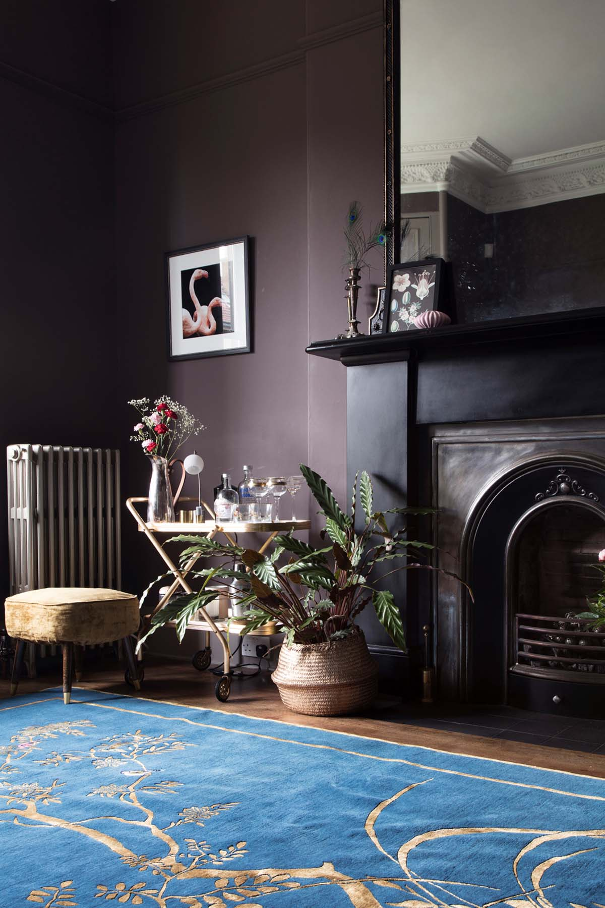 Wendy Morrison Design's new hand-knotted rug Jardin de Chinois in Fiona from  Around the Houses  blog's gorgeous home/Photo: Susie Lowe