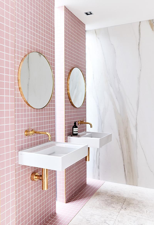 Bathroom belongs to  Rebecca Judd