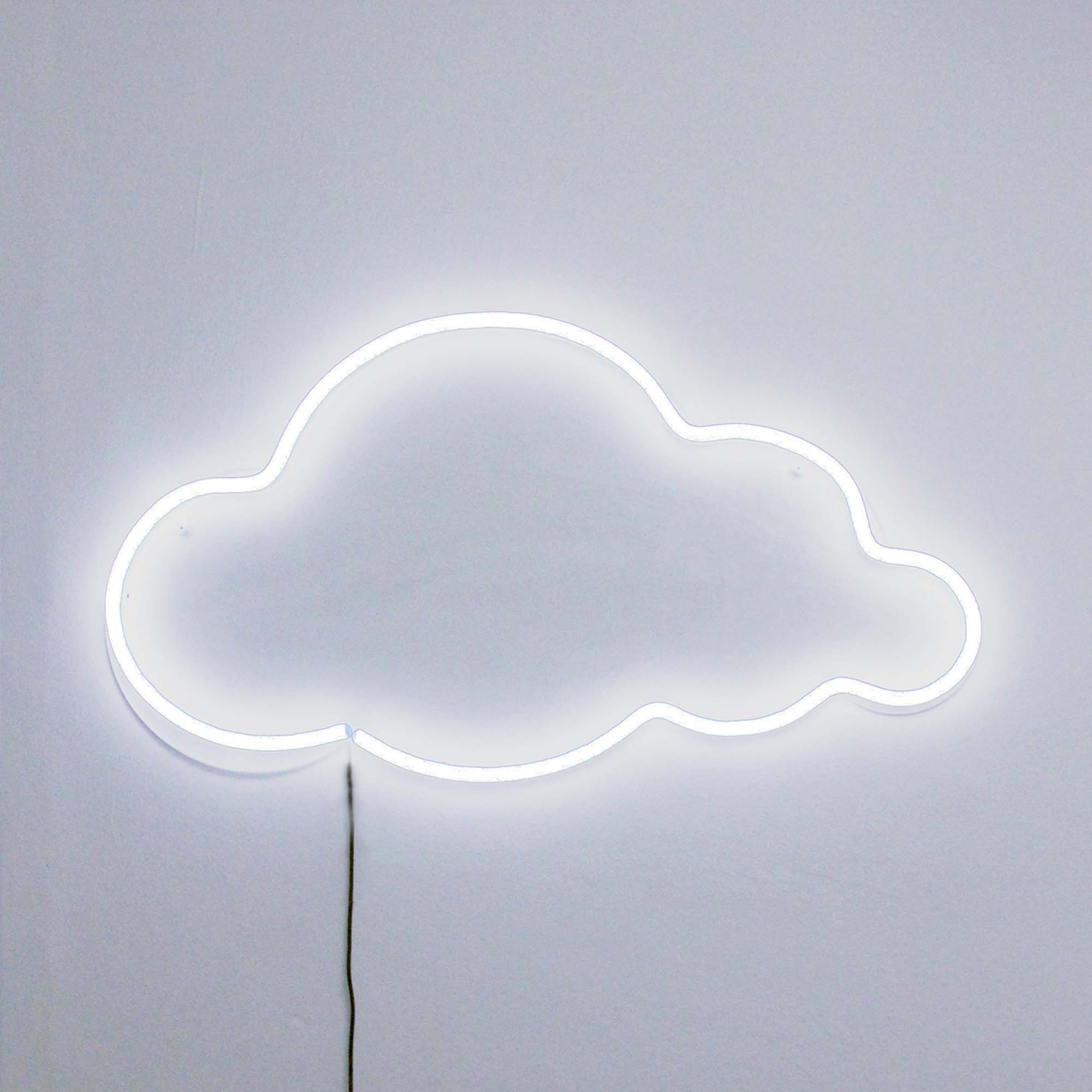 White neon cloud by Bxxlght