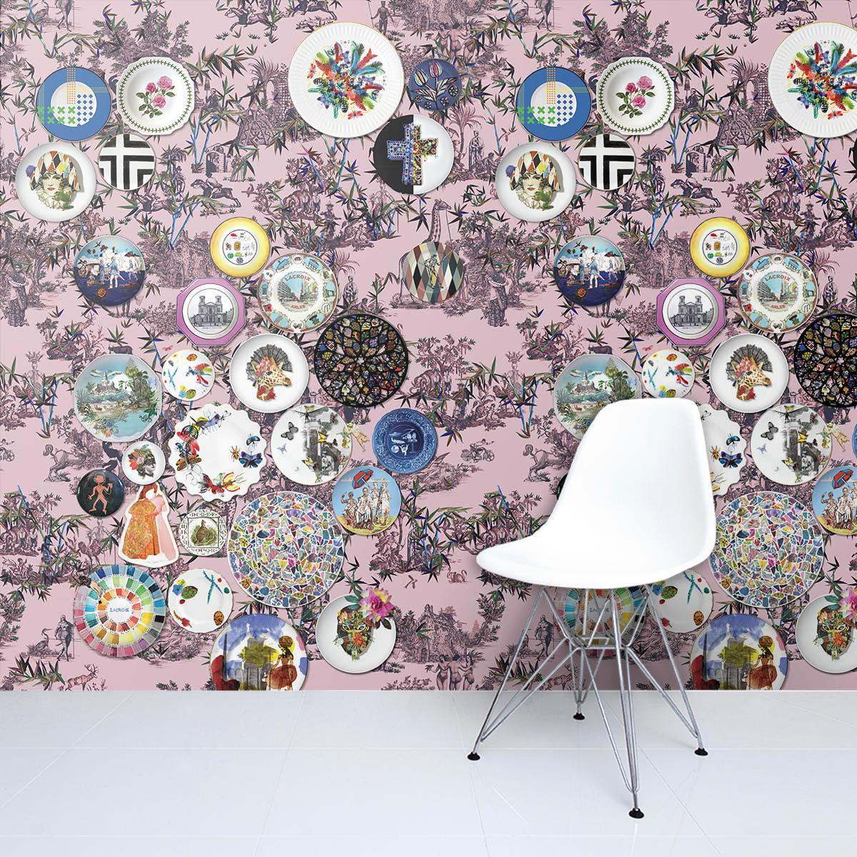 Lacroix Folie Myrtille wallpaper