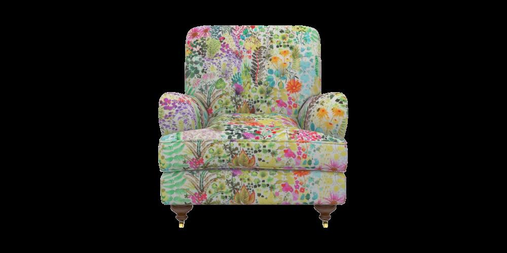 Sofas & Stuff Chiddingfold chair in Liberty Fresco Citrus