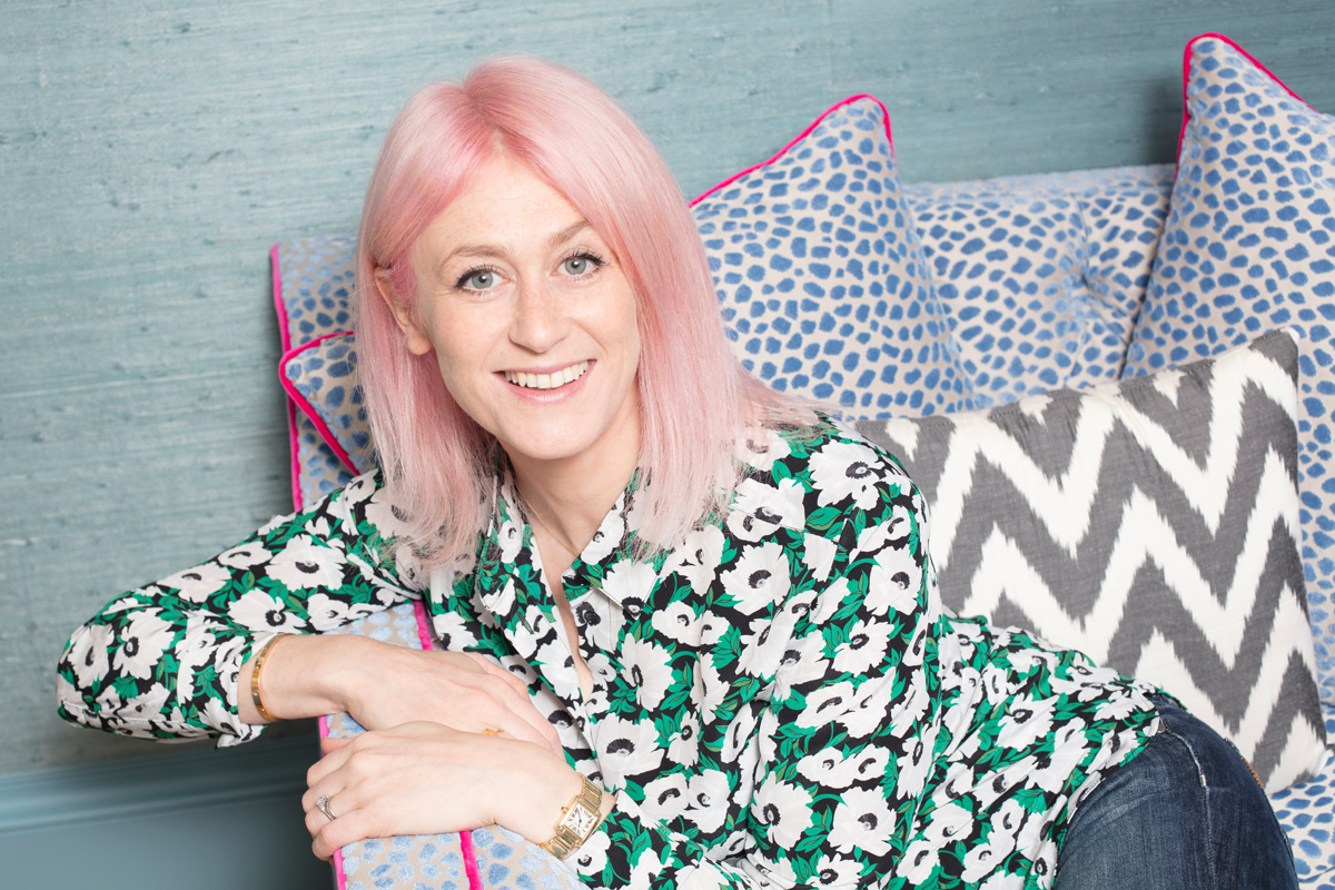 Emily Murray founder of The Pink House interiors blog