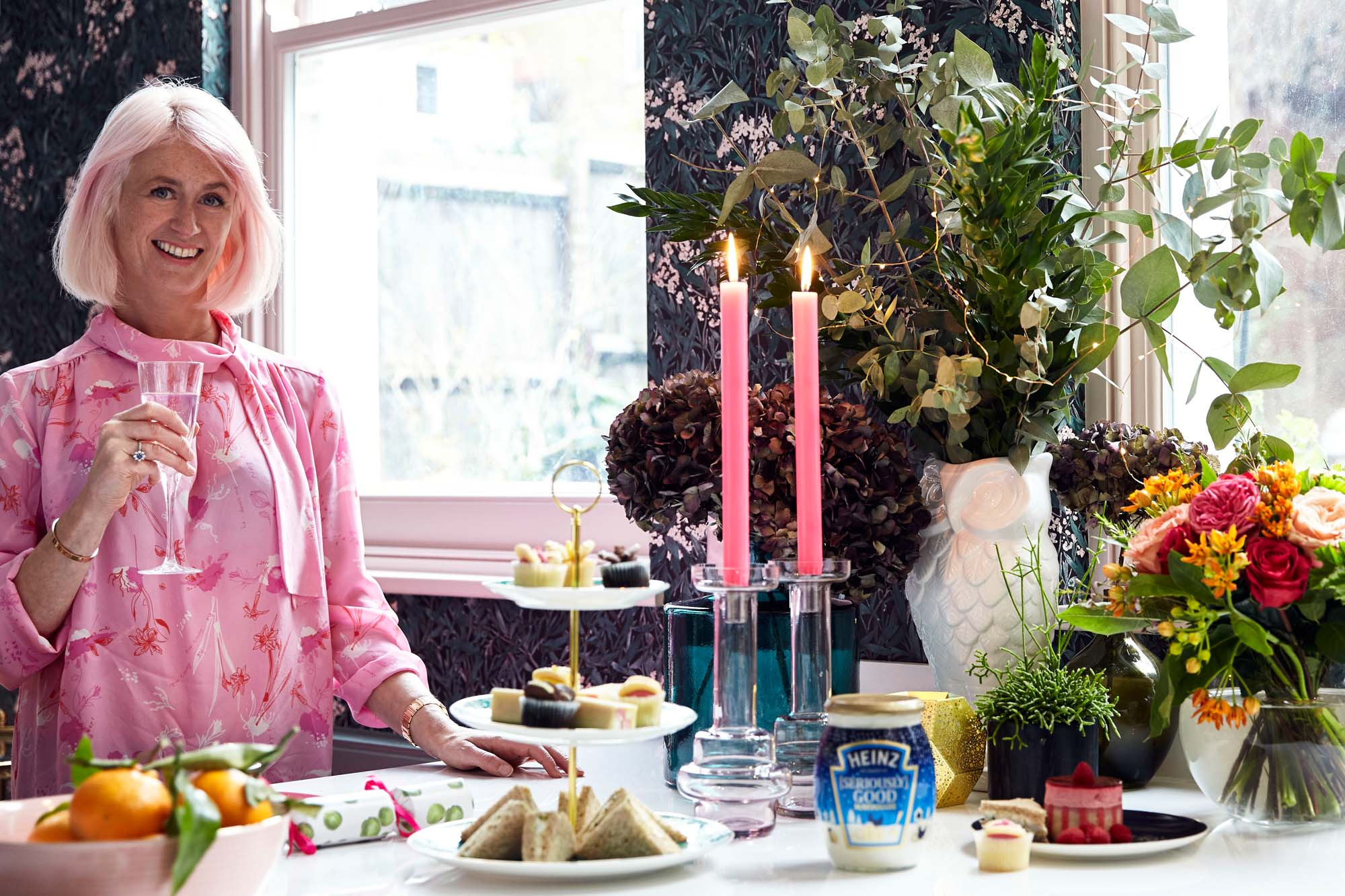 Festive afternoon tea at The Pink House
