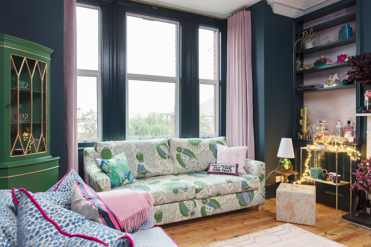 Your curtains should ALWAYS reach the floor/Photo: Susie Lowe