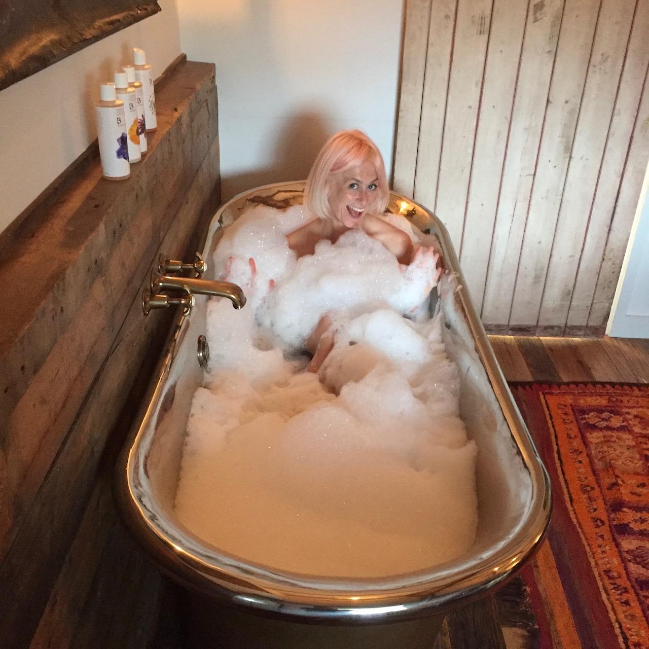 Still not enough bubbles/Photo: Pink House Husband