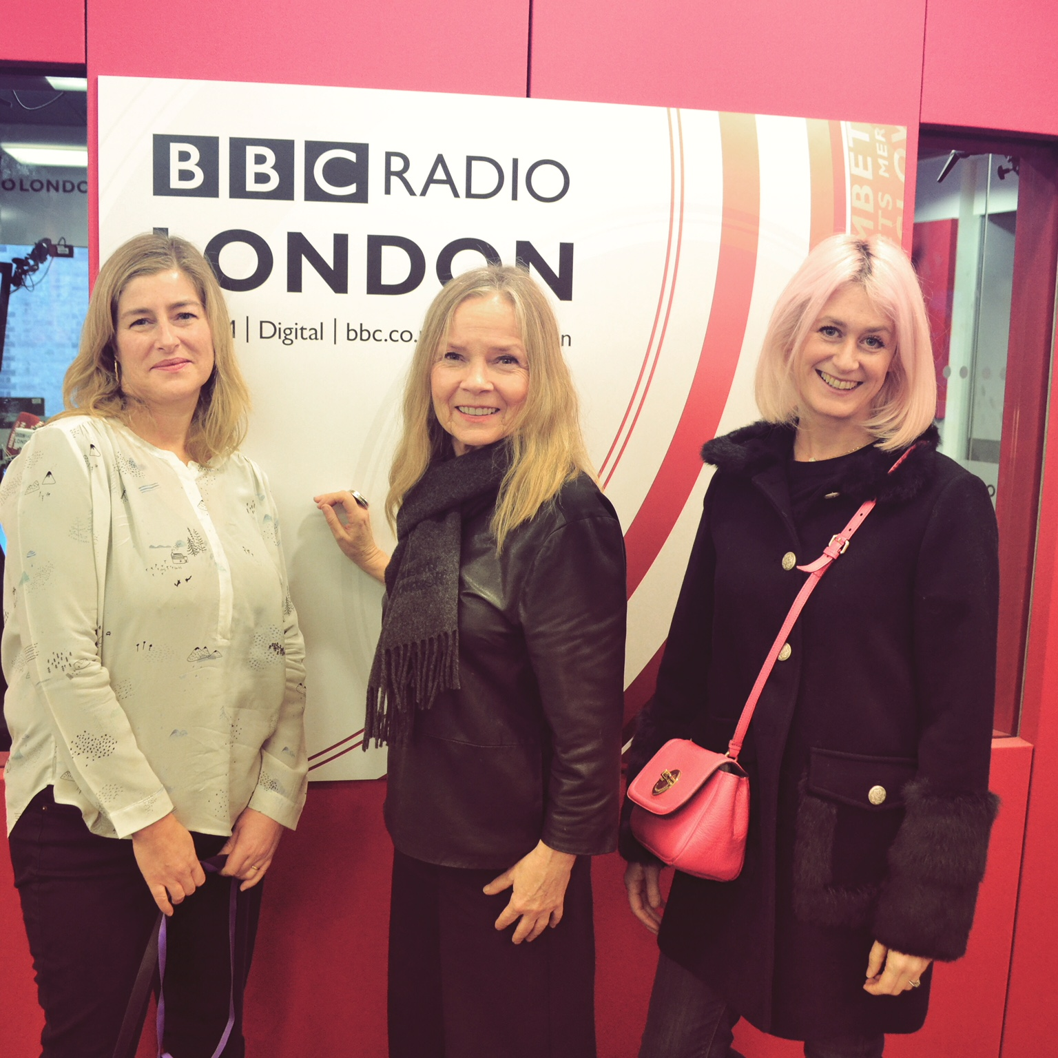 Emily Murray from The Pink House on The Jo Good Show on BBC Radio London