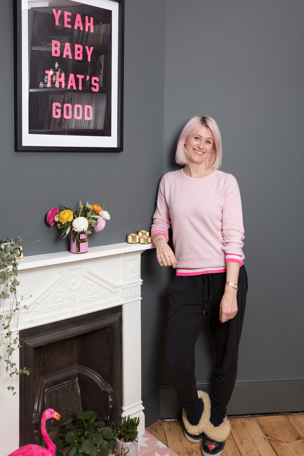 Me and my room, jumper by  Cove Cashmere /Photo: Susie Lowe