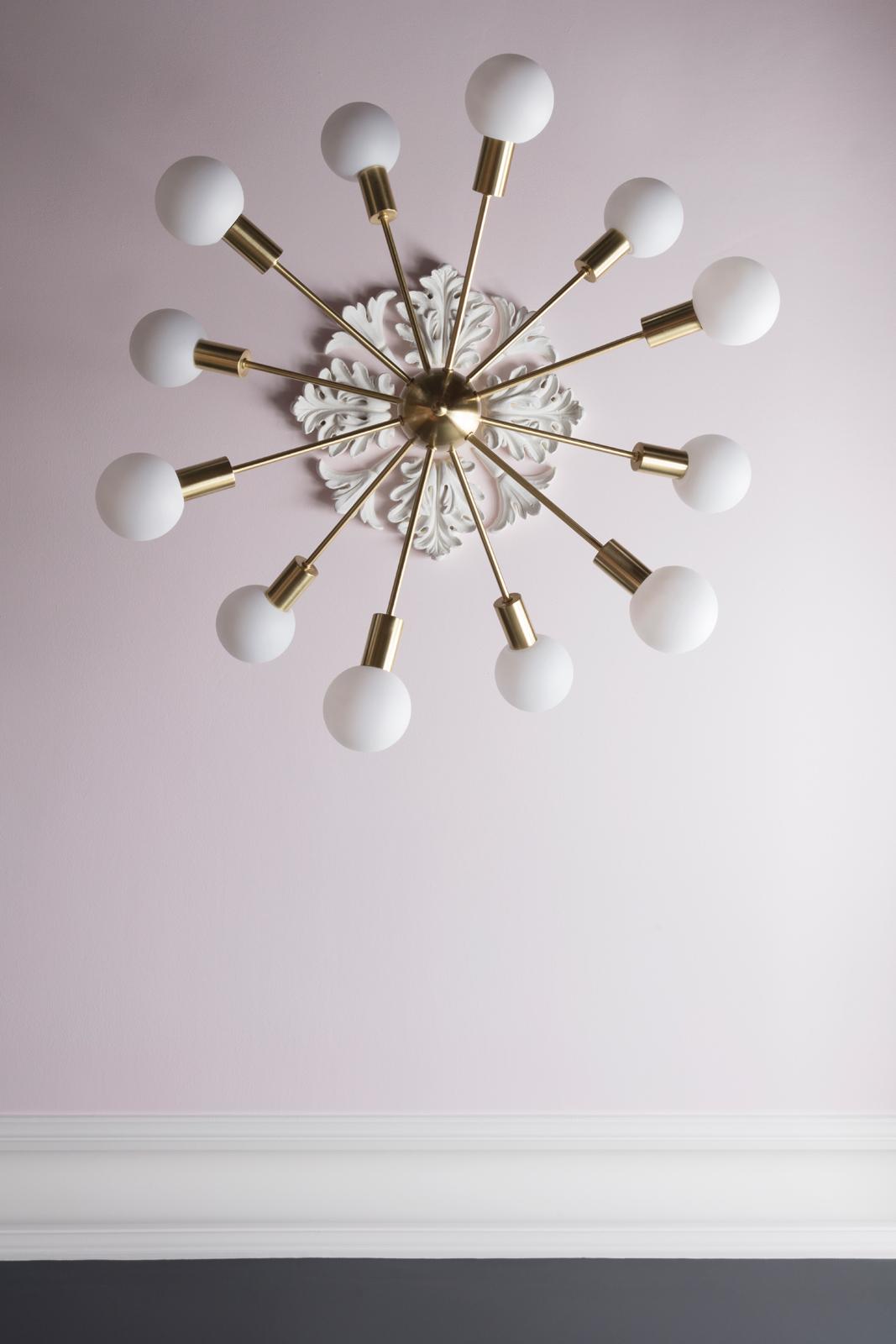 AFTER! Dexter sputnik light from Marks & Spencer/Photo: Susie Lowe