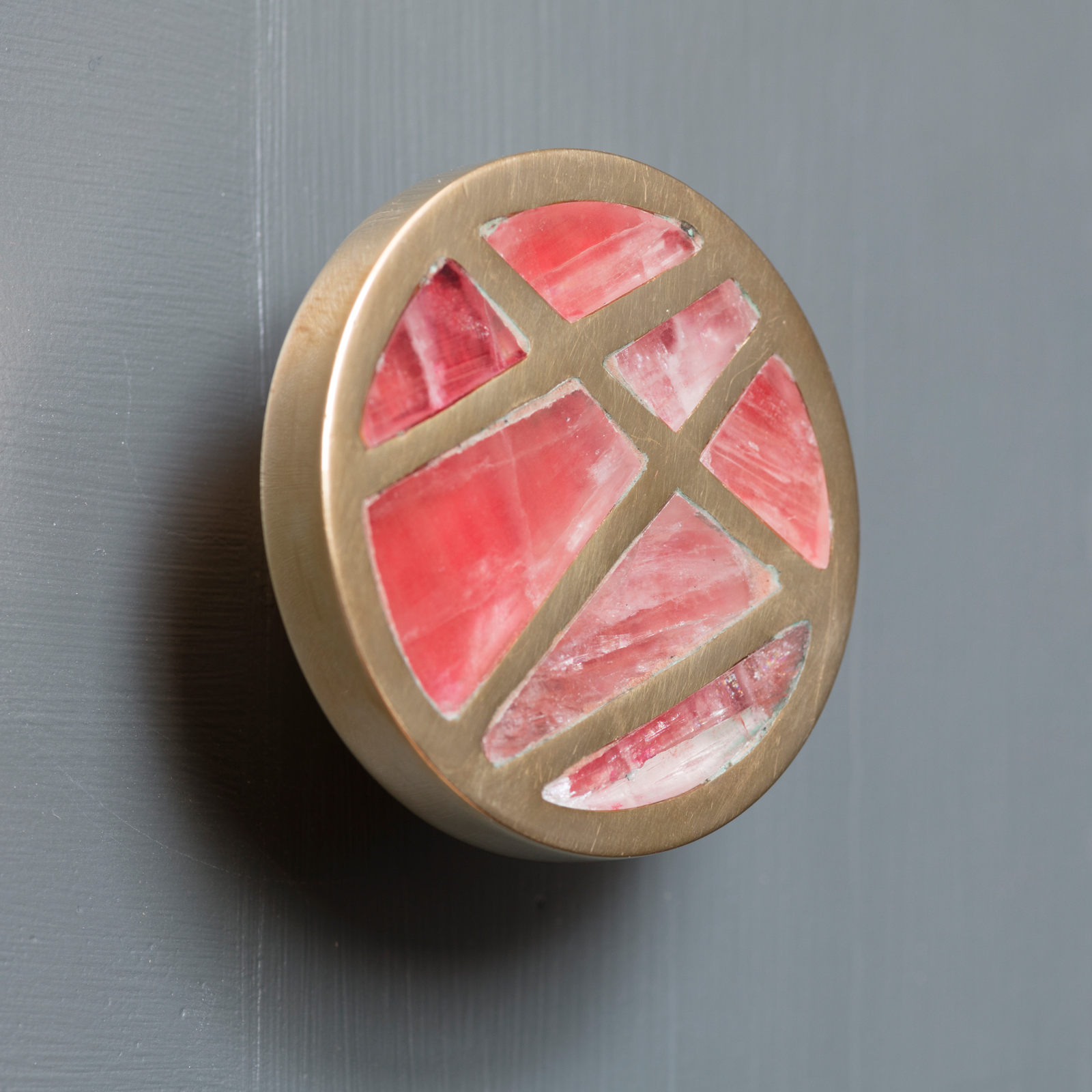 'Emily' handle made bespoke for The Pink House by KOHR