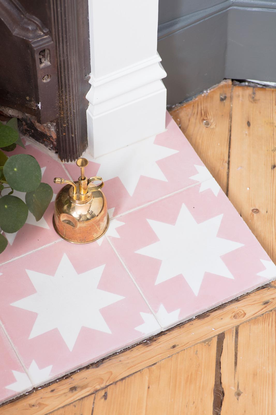 Bert & May pink Pradena tiles