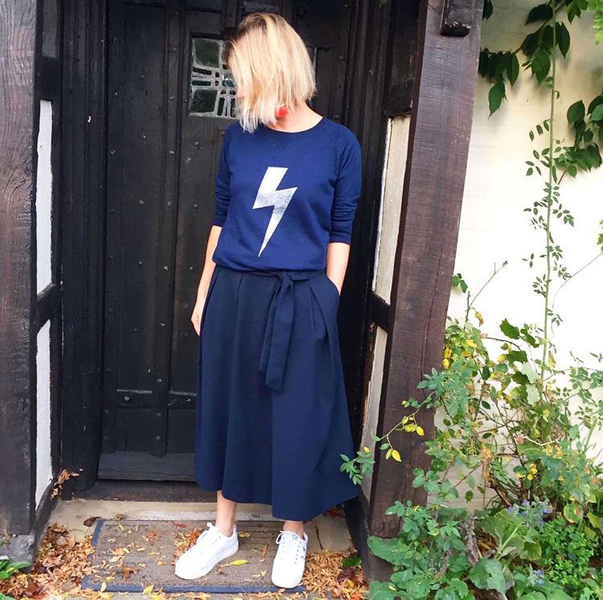 Lightening bolt jumper