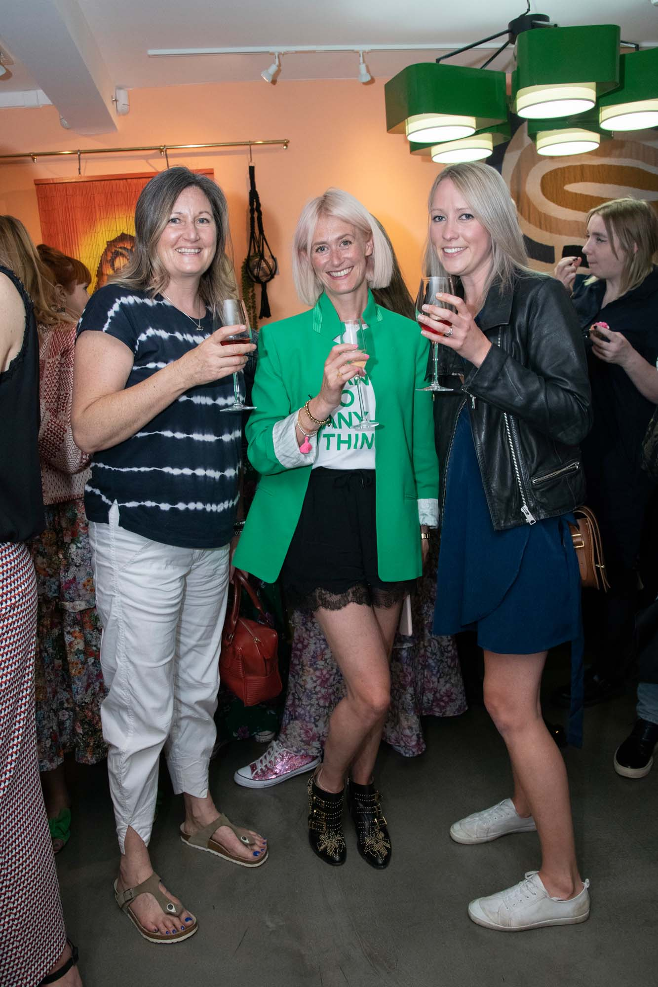 With Ali Litten (R) from Sofas & Stuff