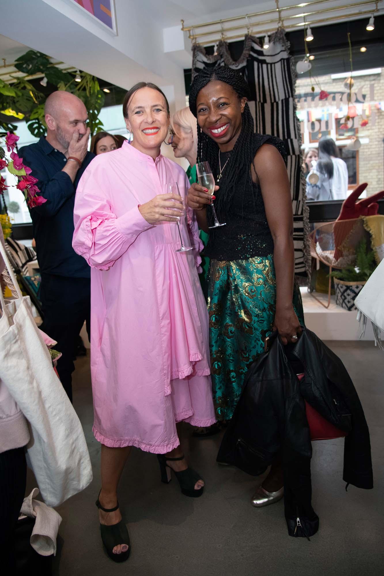 Zoe and Busola Evans from Livingetc