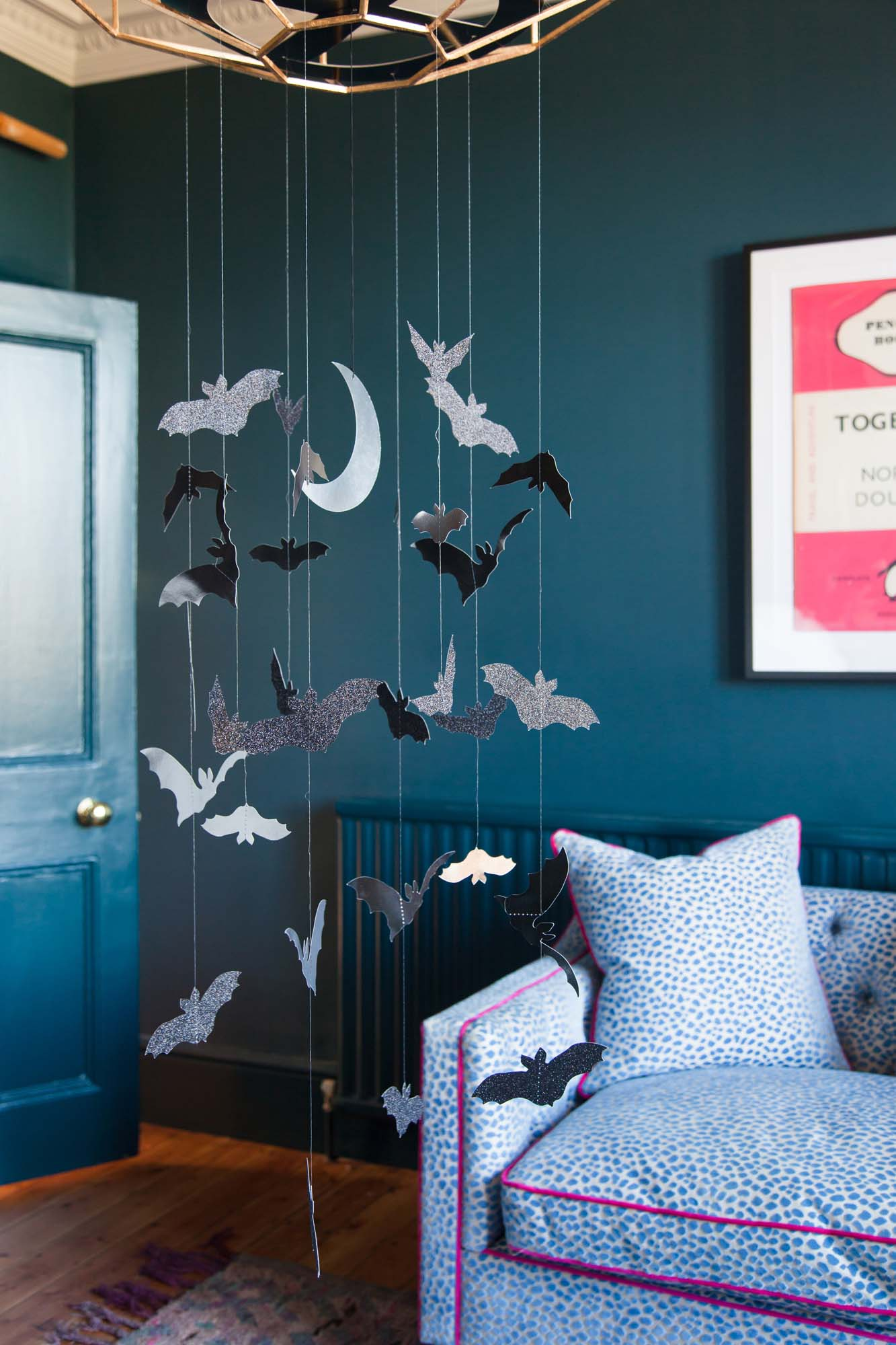 Sainsbury's Home bat chandelier mobile
