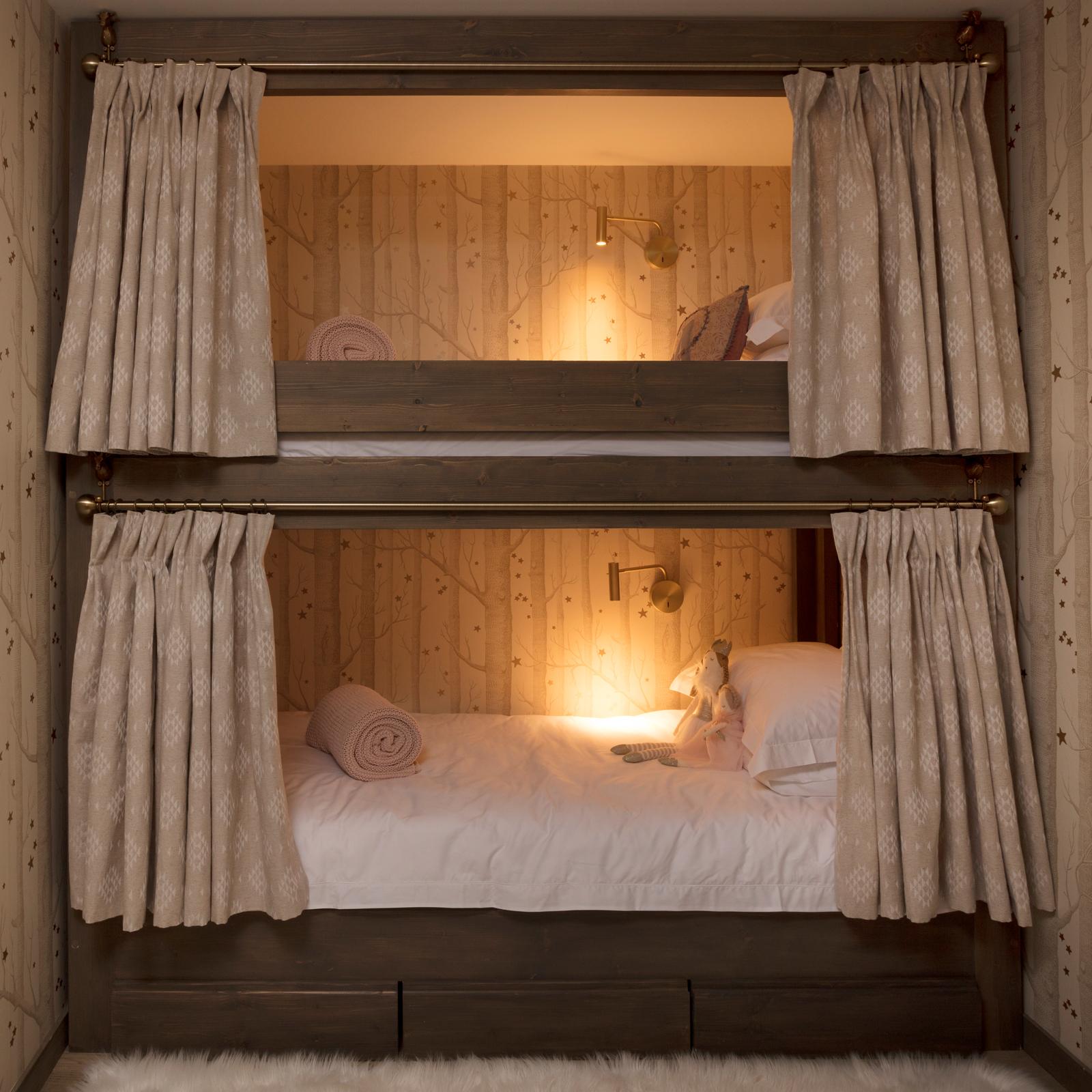 Chalet Mirabelle's magical bunk beds