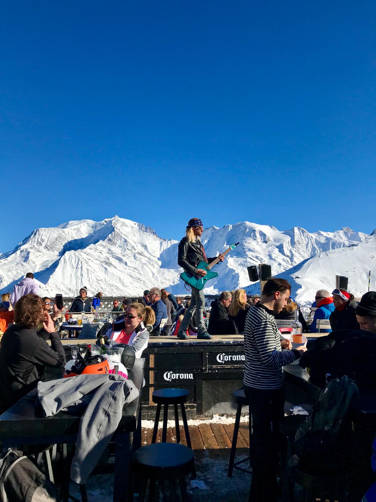 The Folie Douce epic après ski enabled by the chalet nanny