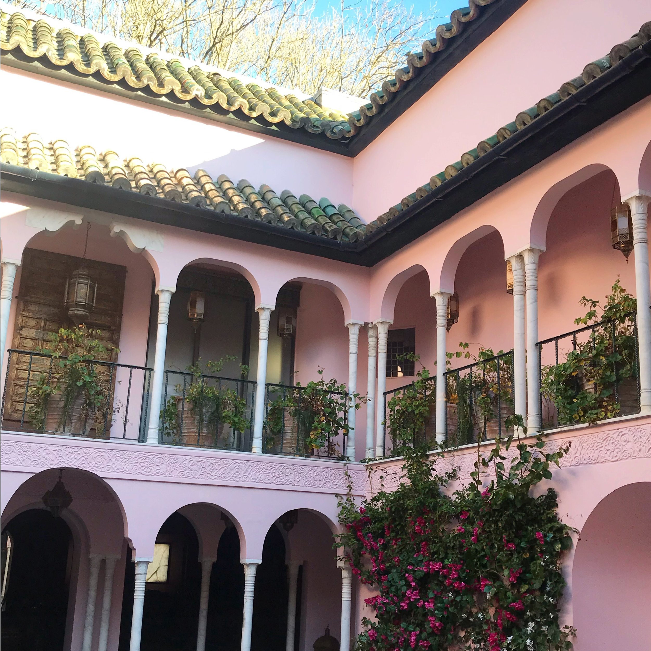 The Pink House approves of this colour scheme