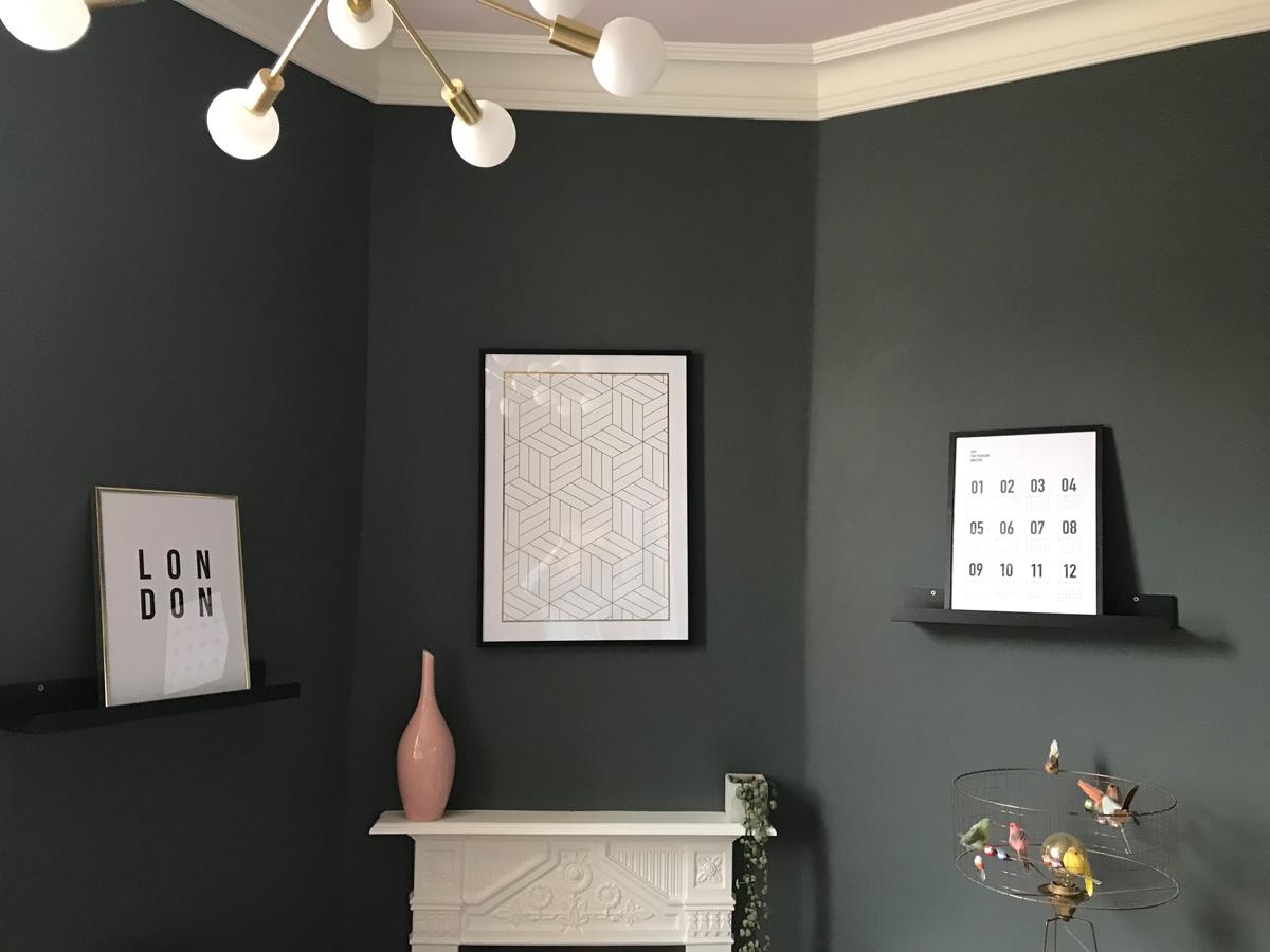 L to R: London; Cubes Pattern; Calendar 2019 B&W