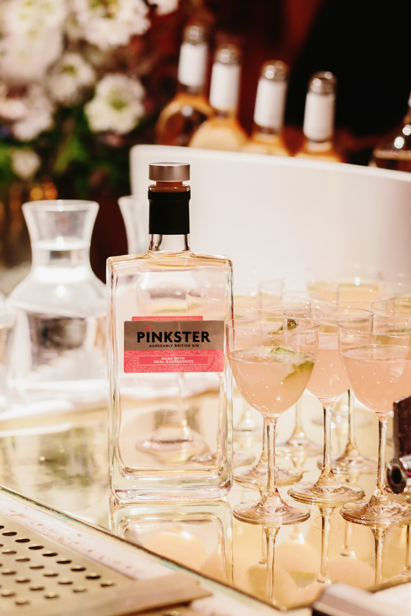 Pinkster cocktails at the Pink House Living book launch