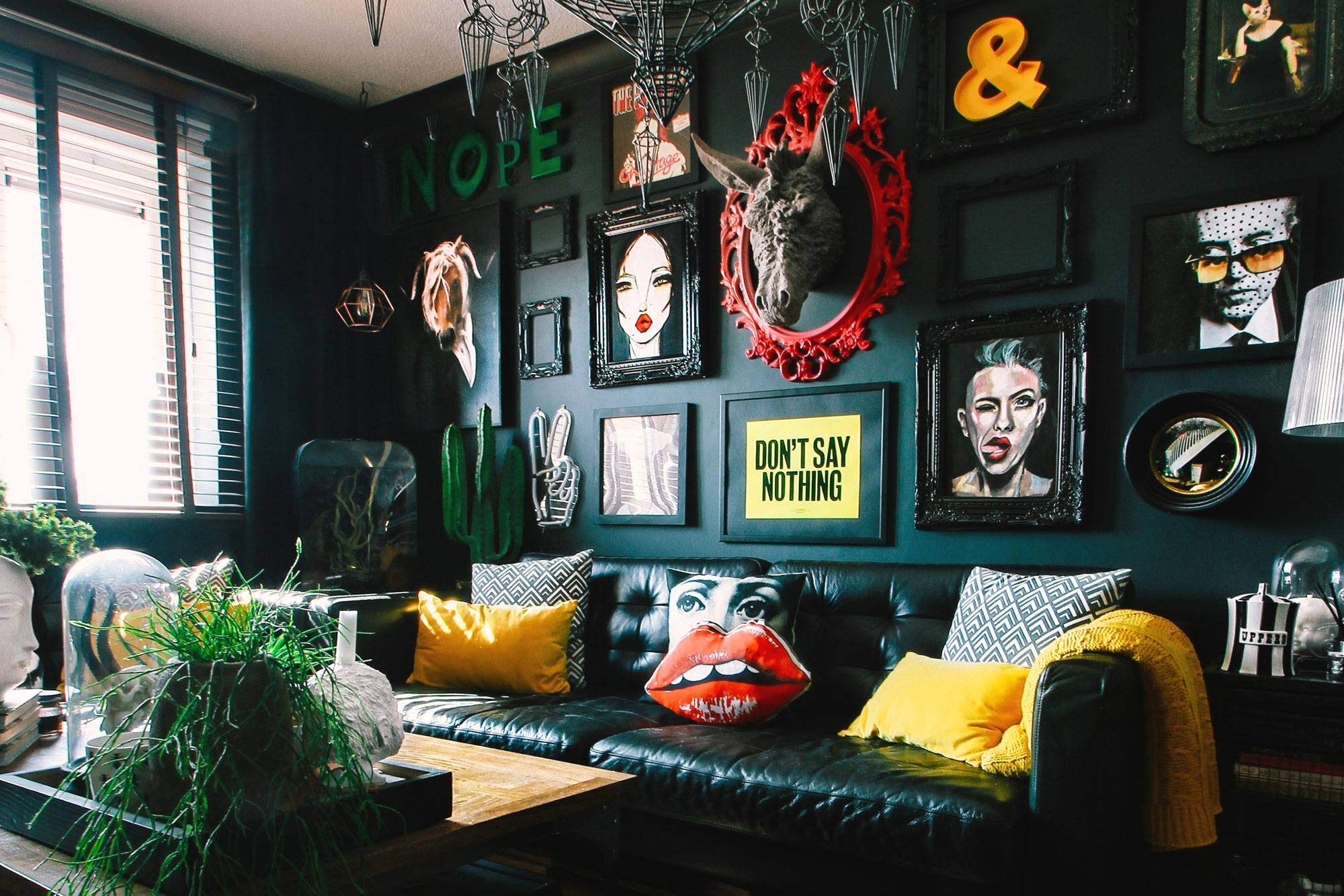 Pati Robins has transformed her rented home into a plush wonderland.