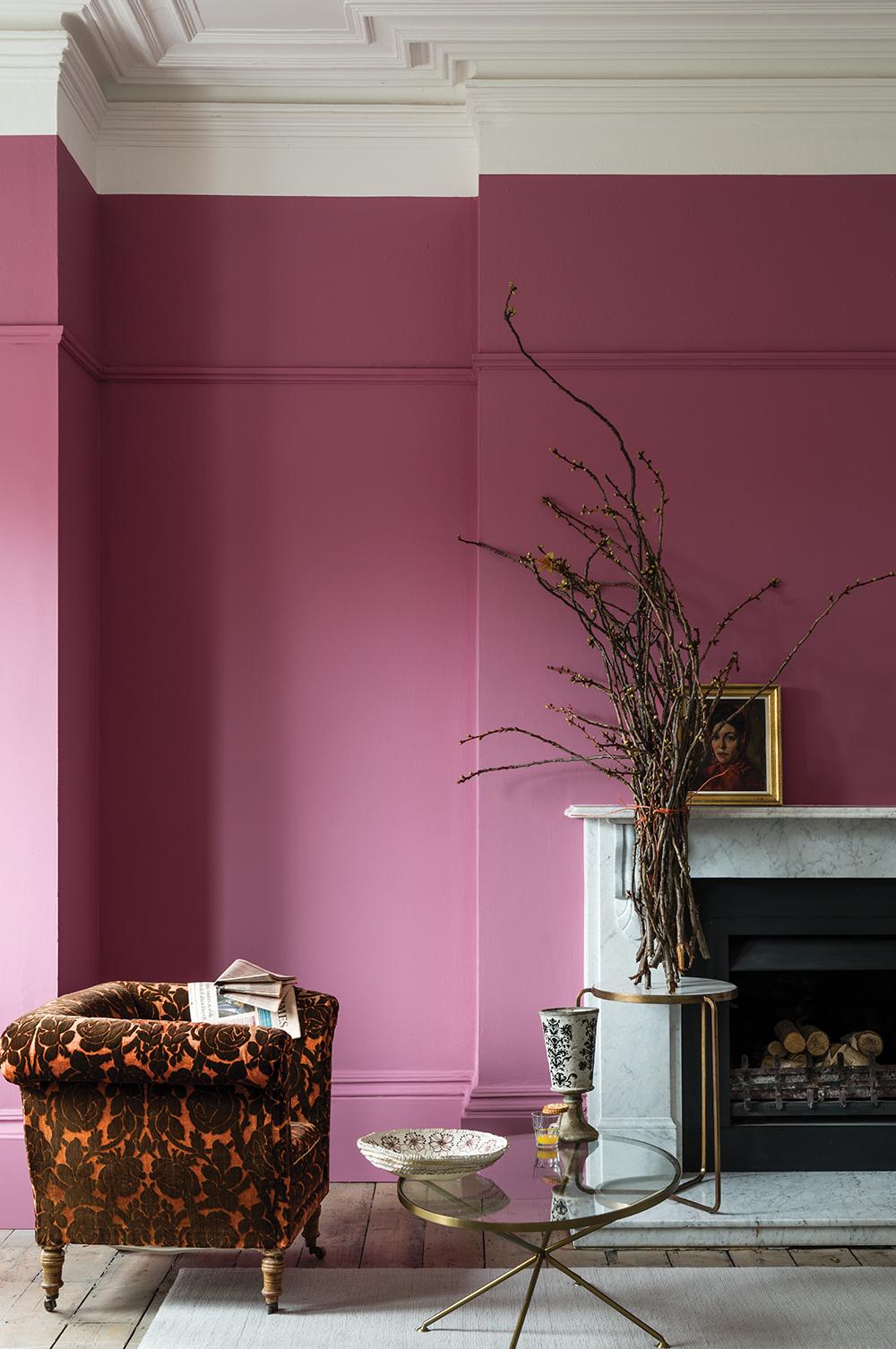 Farrow & Ball's Rangwali Pink