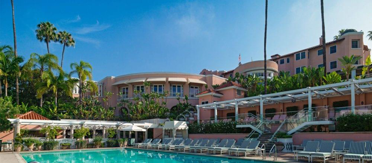 The Beverly Hills Hotel is California turned up 11.