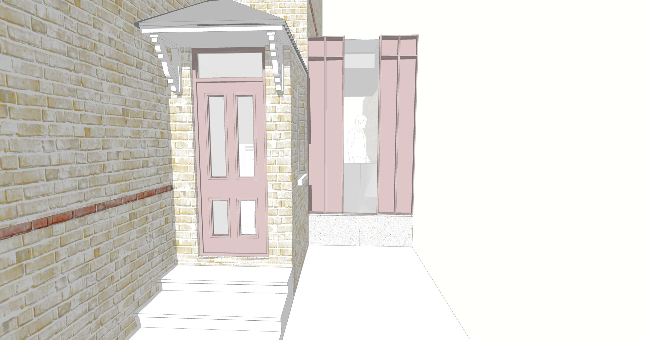 The Pink House extension planning permission