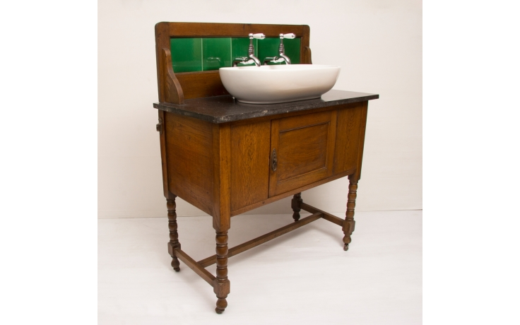 Edwardian Washstand with Marble Top, £835 from The Old Cinema