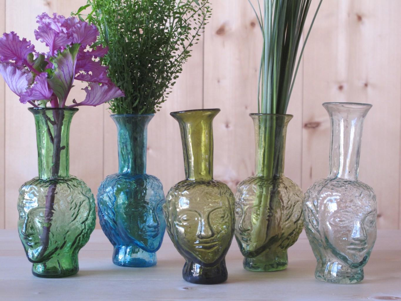 La Soufflerie glass head vase, £35.99 from  Trouva