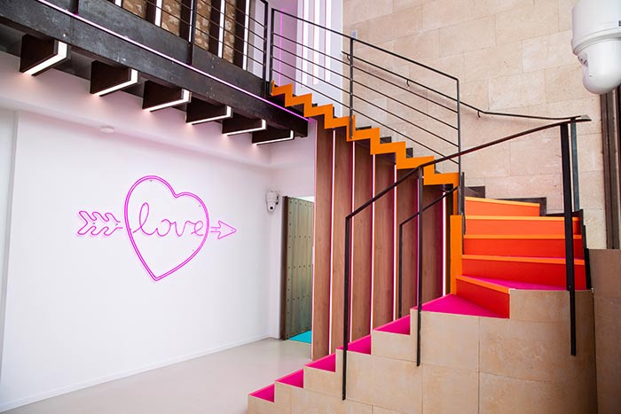 We're catching feelings… for this stairway.