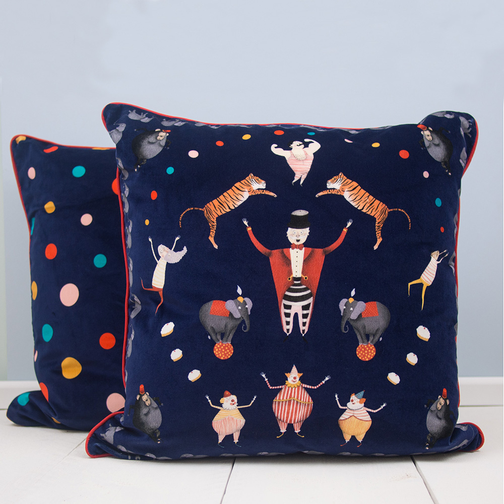Big Top Circus Cushion  by the Prince's Trust Tomorrow Store, £84