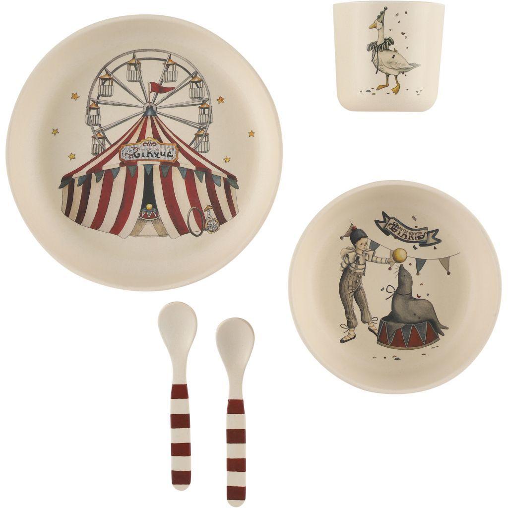 Circus Tableware Set  by Konges Slojd, £24.95 from Scandibarn