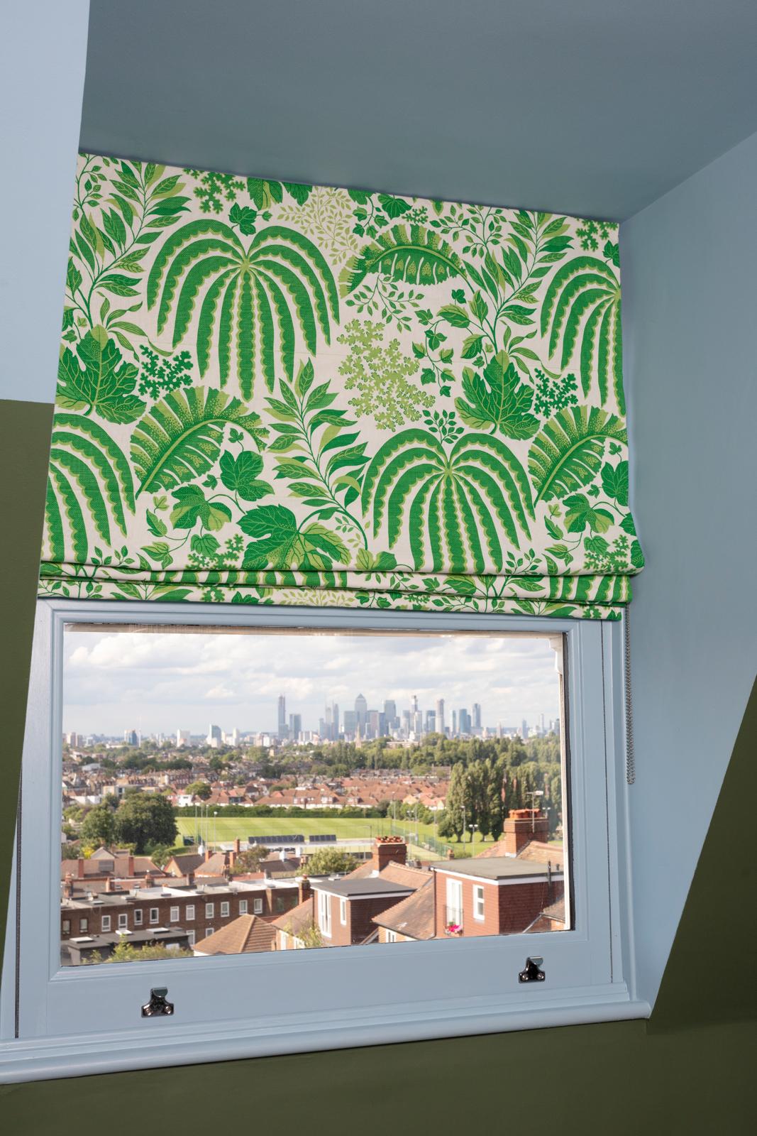 The lucky little b***er's birds-eye view of London