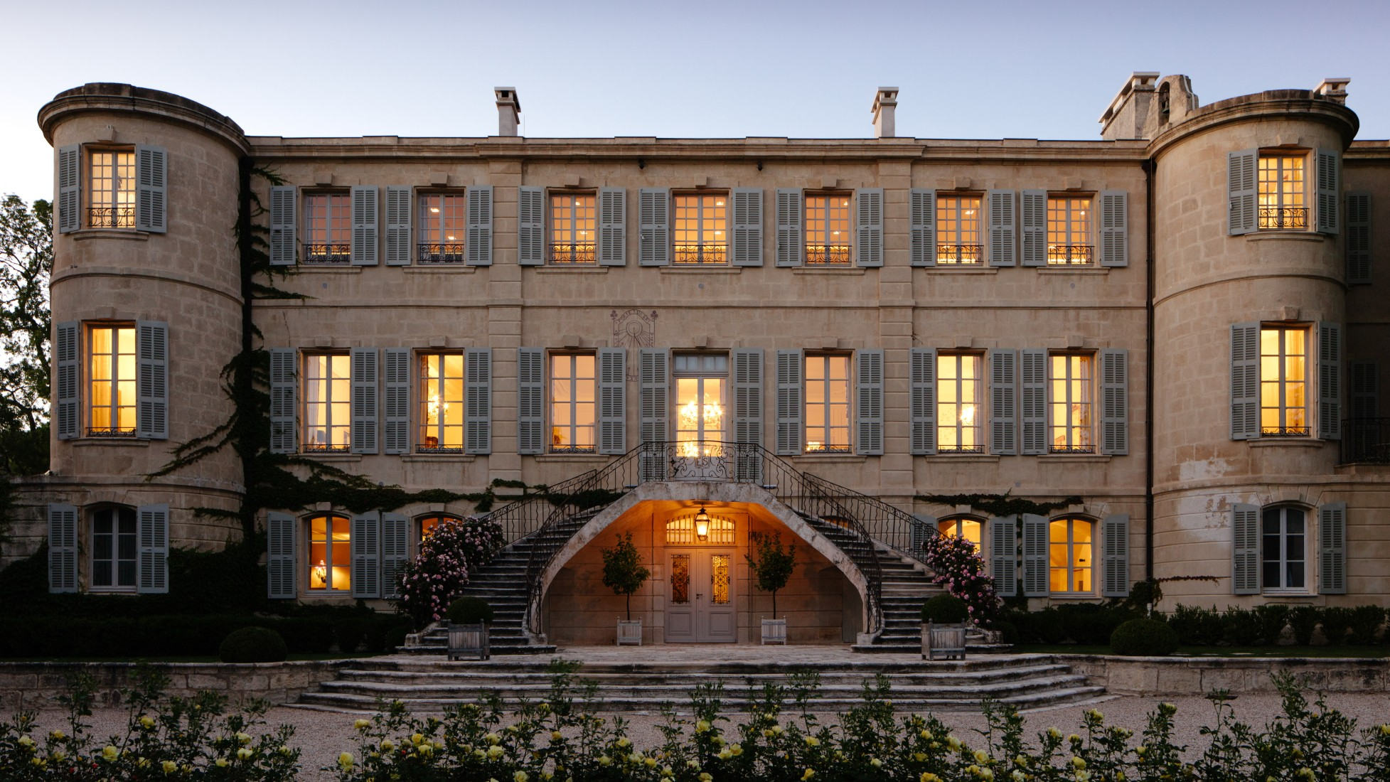 The very definition of luxe, Chateau d'Estoublon.