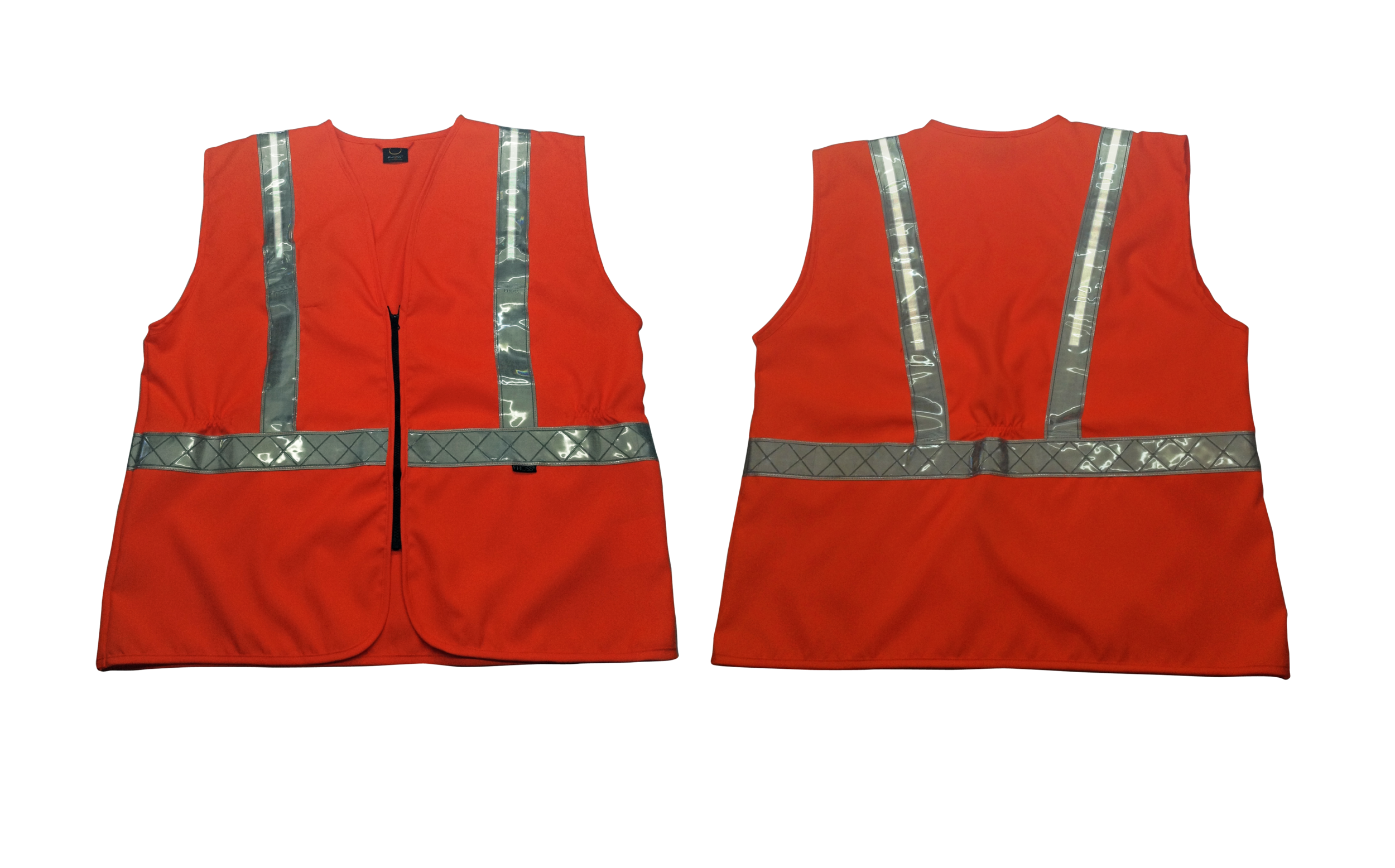 FiVita Safety Vest   100% Polyester • Sealed Fhoss illuminated strip • Solid & durable • Water resistant • Colour options: Yellow & Orange   Test Criteria /  EN ISO 20471:2013 • ANSI / ISEA 107 • CSA Z96:02/09 • GO/RT3279 • IP 67 Connector