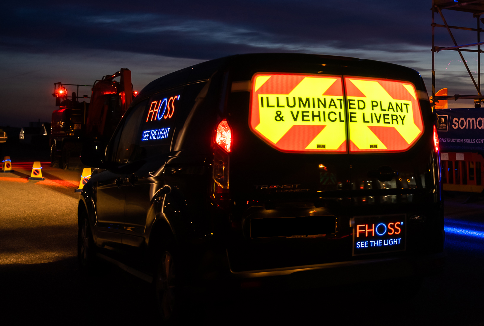"""This product is amazingly bright at night. Providing extra protection when working not only on the Highway, but on site in general.""  BAM Nuttall Ltd."