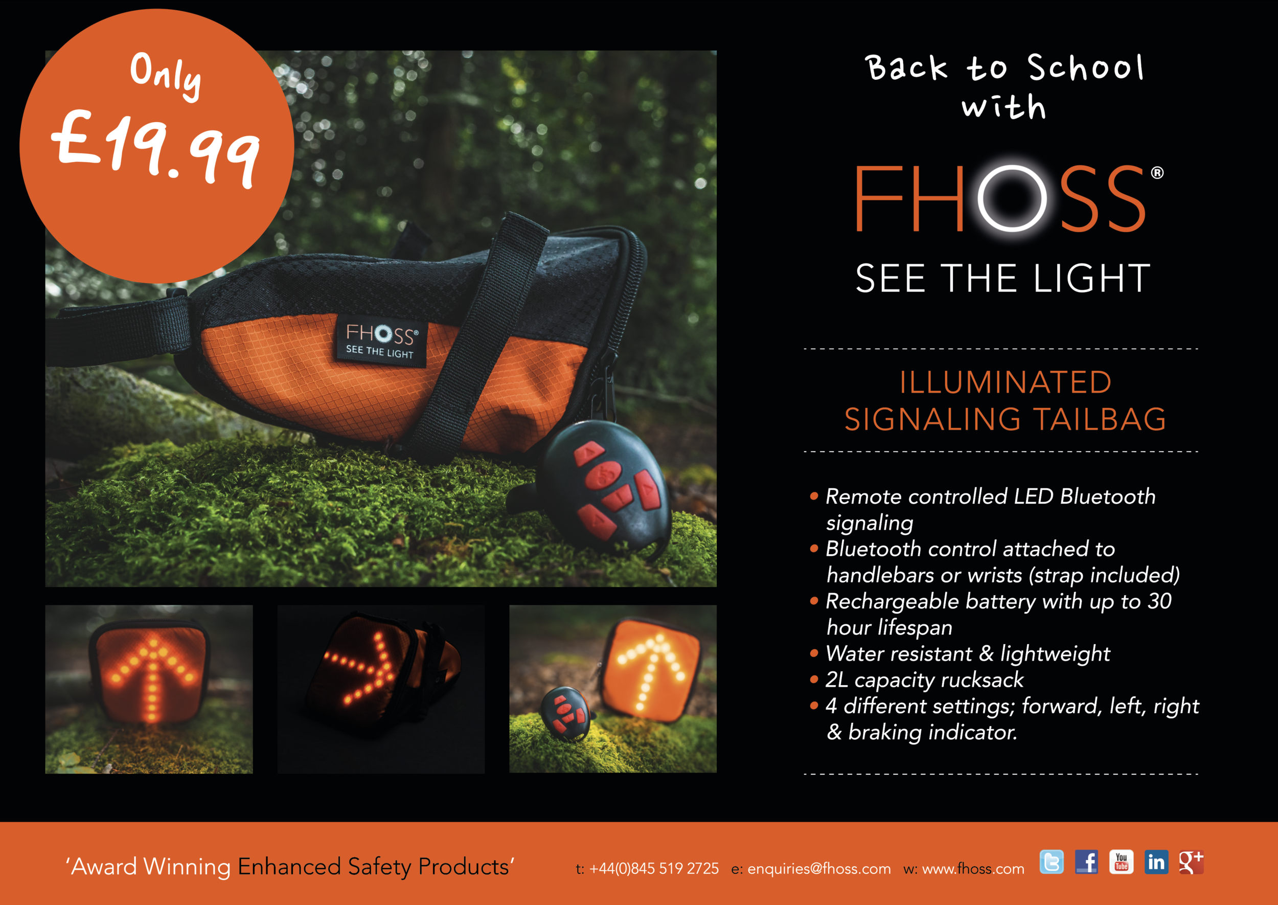 FHOSS Illuminated Signalling Tailbag
