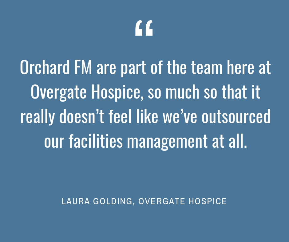 Copy of Orchard FM and FM Energy are part of the team here at Overgate Hospice, so much so that it really doesn't feel like we've outsourced our facilities management and energy purchasing at all (2).jpg