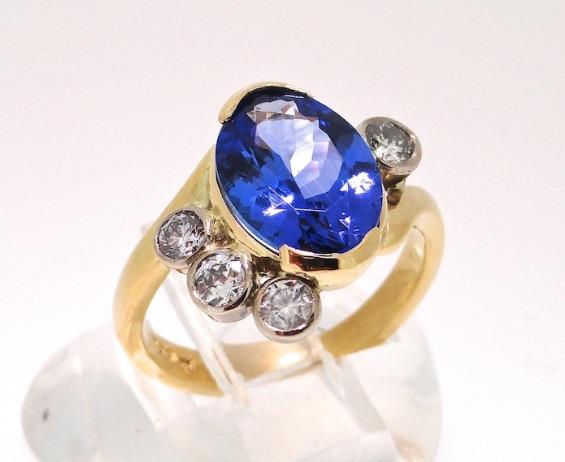 Stephen Thomas Tanzenite Ring.jpg