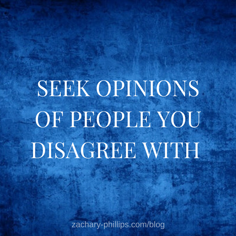 Find people who disagree
