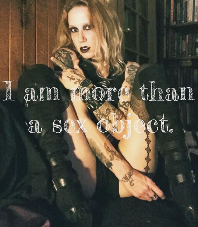 """I Am More Then A Sex Object - What I Say Vs How I Feel Series"""