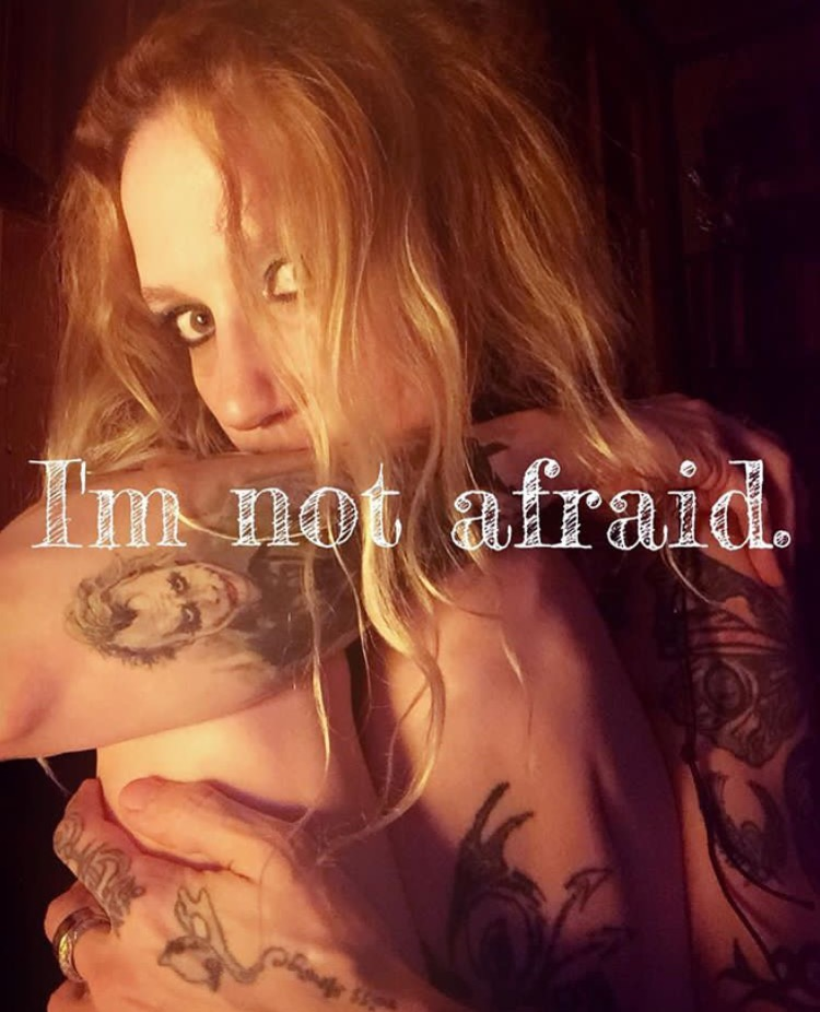 """I'm Not Afraid - What I say Vs How I feel series"""