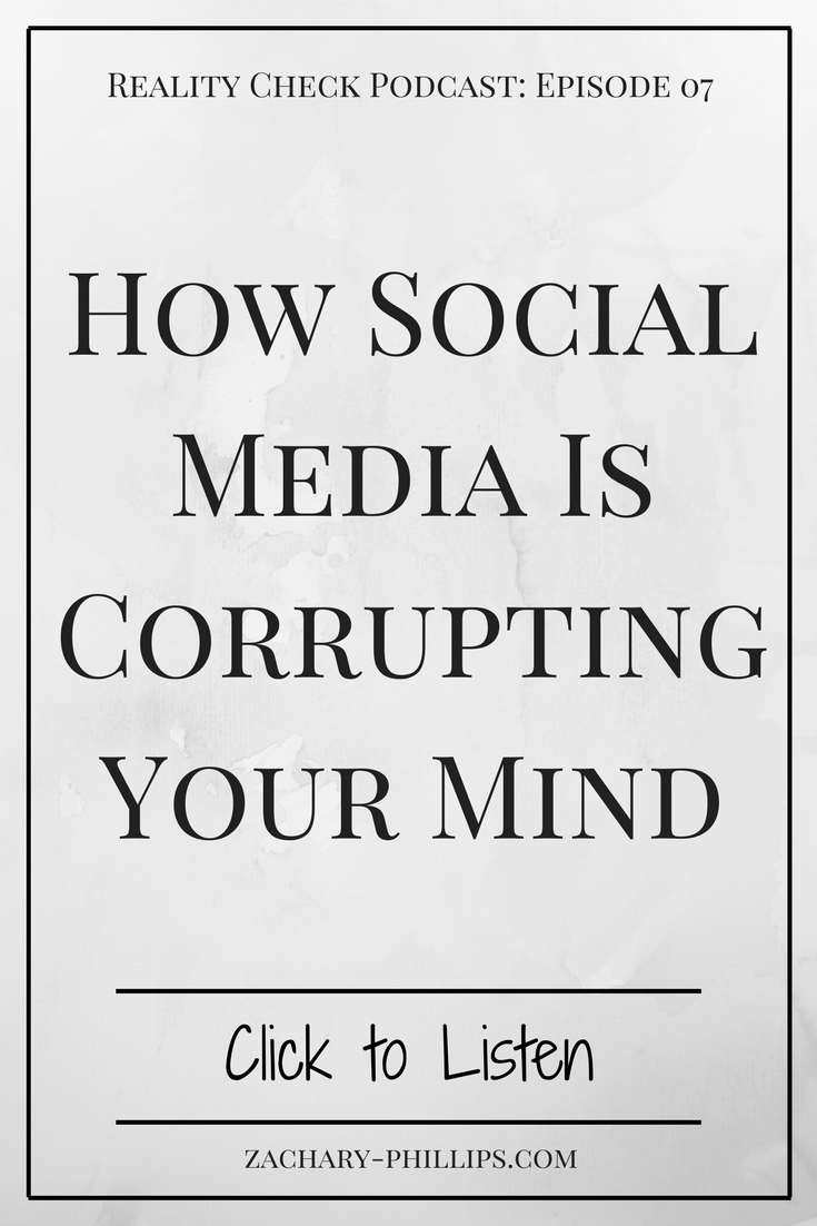 How Social Media Is Corrupting Your Mind - Even If Its All 'Positive' - pinterest