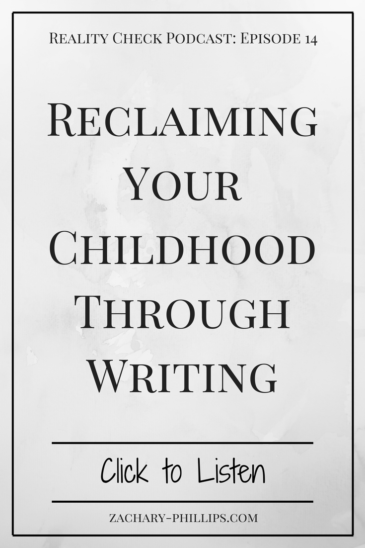 Reclaiming Your Childhood Through Writing - pinterest