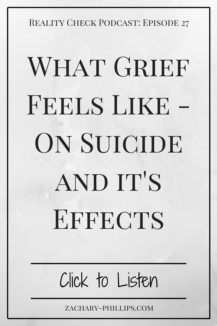 What Grief Feels Like - On Suicide and it's Effects - Pinterest