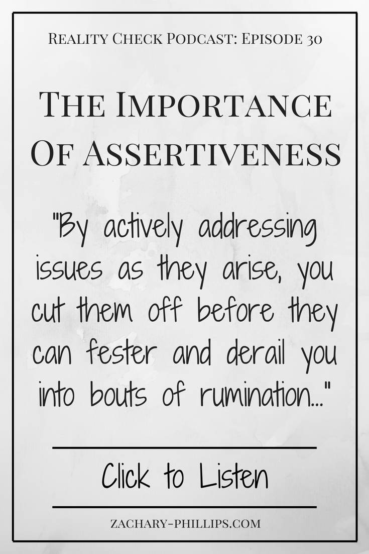 The importance of assertiveness