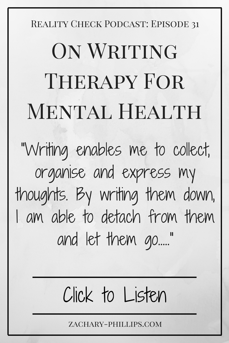 Writing for mental health