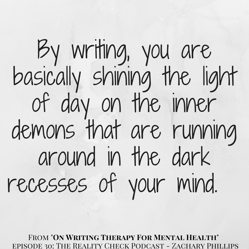 On writing therapy 2