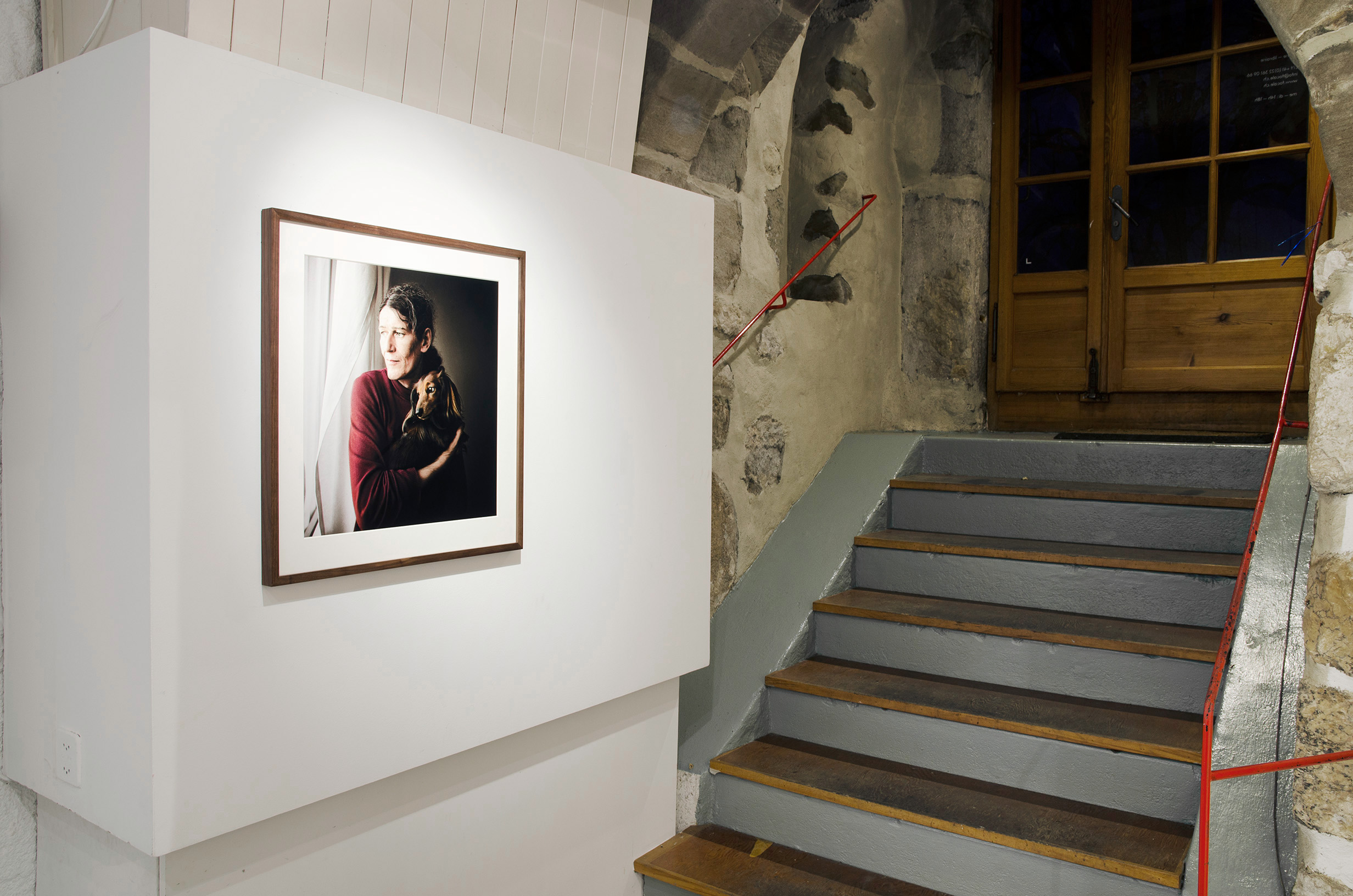 installation view, solo show, FOCALE, Nyon, 2017