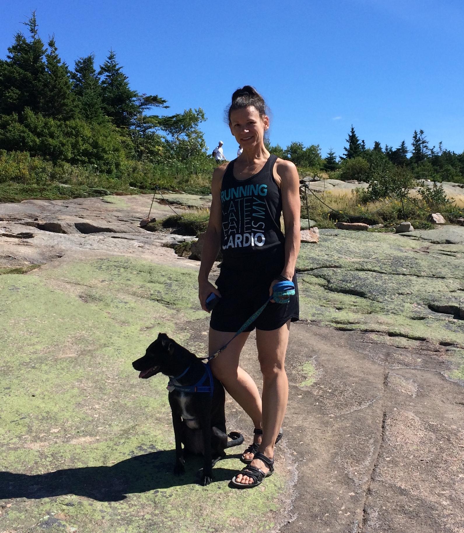 Kim and Turtle.Acadia.jpg